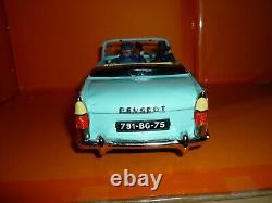 Joustra 404 Peugeot Cabriolet Chauffeur Au Telephone