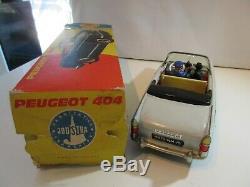 Joustra Peugeot 404 Cabriolet Au Telephone Original Jouet Ancien