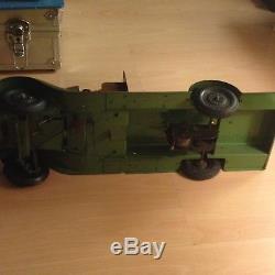 Jrd Jouet Citroen T23 Militaire Camouflage Transport De Marins 45 cm d'origine