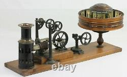 KINEMATOFOR Ernst PLANK mécanisme à air chaud Nuremberg Allemagne Vers 1900