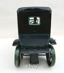 Karl Bub Limousine Auto Tole Lithographiée Mecanique 31 Cm Germany 1920