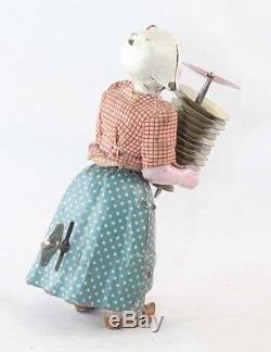 LA CASSEUSE D'ASSIETTES Fernand MARTIN / jouet ancien