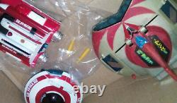 LOT de jouets vintage goldorak et soucoupe navette ulysse 31 1980 popy