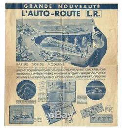 LR L'AUTO-ROUTE / jouet ancien