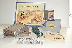 LR Louis Roussy ancien circuit auto-route salmson 1/24 complet en boite