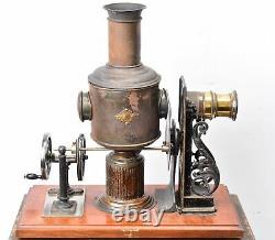 Lanterne magique. Cinématographe Kinematador Ernst Plank 1897