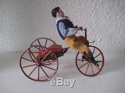 Le jouet Français Tricycle mécanique FAIVRE DESSAIN