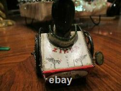 Lehmann, Zikra jouet ancien partie de jouet mécanique en tôle lithographiée