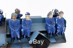 Les Jouets CITROEN Camion T 45 militaire, en tôle peinte bleu