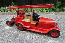Les Jouets Citroen 585 Auto Pompe de Luxe 54 Cm etat d origine + Boite