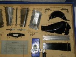 Les Jouets Citroen En Tole Boite N°2 Chassis Demontable C6 Eclairage + Habillage