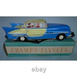 Limousine en tôle à friction Champs-Elysées JOUSTRA + boîte d'origine