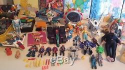 Lot de jouets vintage vaisseaux robot epoque capitaine flam ulysse 31 popy