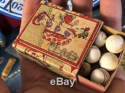 Loterie Ancienne Jouet & Jeu Ancien XIX ème Siècle Antique French Toy 19th