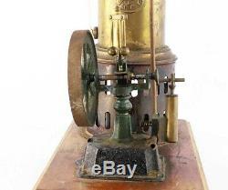 MACHINE A VAPEUR E. PLANCK 1890 / jouet ancien antique toy