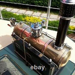 MACHINE à vapeur MARKLIN 4098/92/8 Dampfmaschine Live Steam Engine