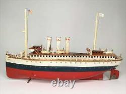 MARKLIN Live Steam Amerika Boat Ocean liner / Paquebot à vapeur vive