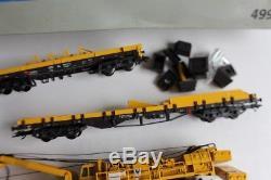 MARKLIN coffret Grue ferroviaire 49950 digital Kran Goliath H0 (37103)