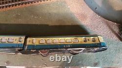 MEMO rare petit Autorail mécanique jouet ancien vintage