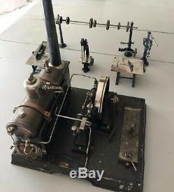 Machine à vapeur Würtemberg début 1900