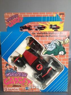 Madmobile Mad Mobile Dr Gang Dr Claw Inspecteur Gadget Bandai Popy MIB Neuf Rare