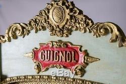 Magnifique Ancien Theatre Castelet De Guignol