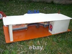 Magnifique Garage Station Azur Atomic 1960 Etat Rare No Depreux Esso