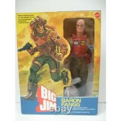 Mannequin Big Jim Baron Fangg MATTEL + boîte d'origine