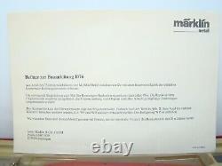 Marklin 1076 Auto Baukasten Mercedes Benz Rennewagen 75 Ans 1914/1989