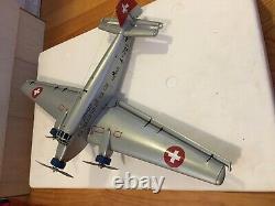 Marklin 19801 Avion Ju52 En Tole Swiss Air Neuf Idel Jep