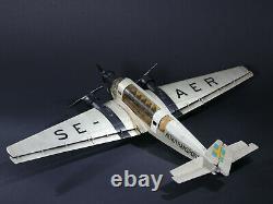 Marklin Junkers Ju 52 Se-aer Compagnie Aerotransport Swedish Airlines Suède