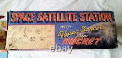 Marx toys Space Satellite station tin toys