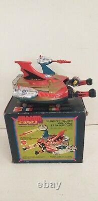Mattel Grandizer Shogun Saucer Goldorak soucoupe notice vintage toy 1978