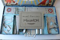 Mecavion Boite De Construction Complémentaire Vintage Années 30 Bon État