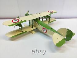 Meccano Airplane Constructor Hydravion biplan (47cm)