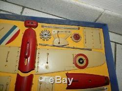 Meccano Ltd constructeur d'avions coffret Avion n°1 spécial militaire 1936 rare