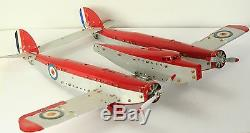 Meccano constructeur d'avions - Grand avion bi-fuselage style P38 lightning