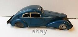 Memo 406 coupé jouet ancien en tôle époque Joustra