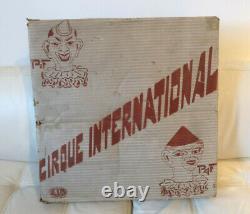 Migault Le Cirque International Rare Grand Coffret Piste Clowns Mecaniques 1925