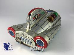 Modern Toys Space Ship Usaf Gemini X5 Made In Japan Battery Op L 24cm