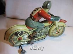 Moto Technofix En Belle Etat Original Jouet Ancien