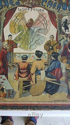 OMBRES CHINOISES 1905 par MAUCLAIR DACIER Jeu Ancien LOIE FULLER shadow theatre