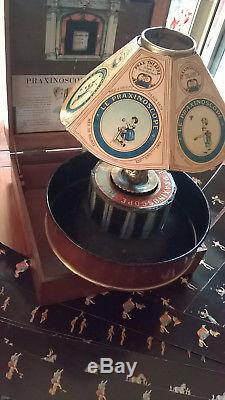 PRAXINOSCOPE THEATRE EMILE REYNAUD 1880 ACAJOU no LANTERNE MAGIQUE PRE CINEMA
