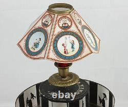 PRAXINOSCOPE de fabrication allemande 7 bandes Vers 1880-1900
