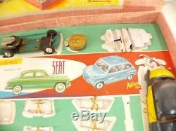Paya Coffret CONSTRUCCIONES De Automovoviles SEAT taxi coffret ancien 1/32