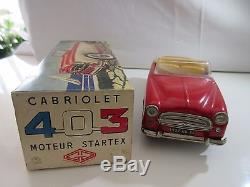 Peugeot 403 Gaspard Gaubier Gege Rare Original Jouet Ancien