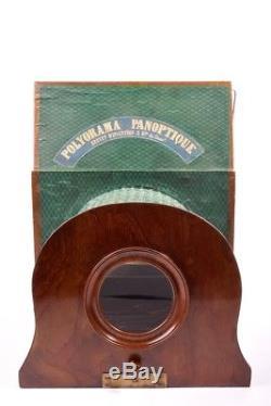 Polyorama Panoptique à grande lentille