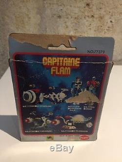Popy Capitaine FLAM 1980 Complet En Boite Française TF1 HONG KONG! RARE