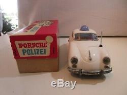 Porsche 356 Police K. S. Japan Original Jouet Ancien Prix Bas