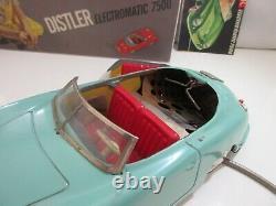 Porsche S. C. 90 Distler Electronic 7500 Original Jouet Ancien